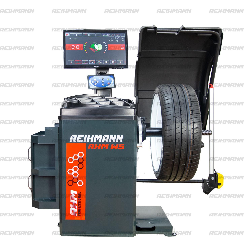 Aparat echilibrat roti RHM W5 automat cu laser